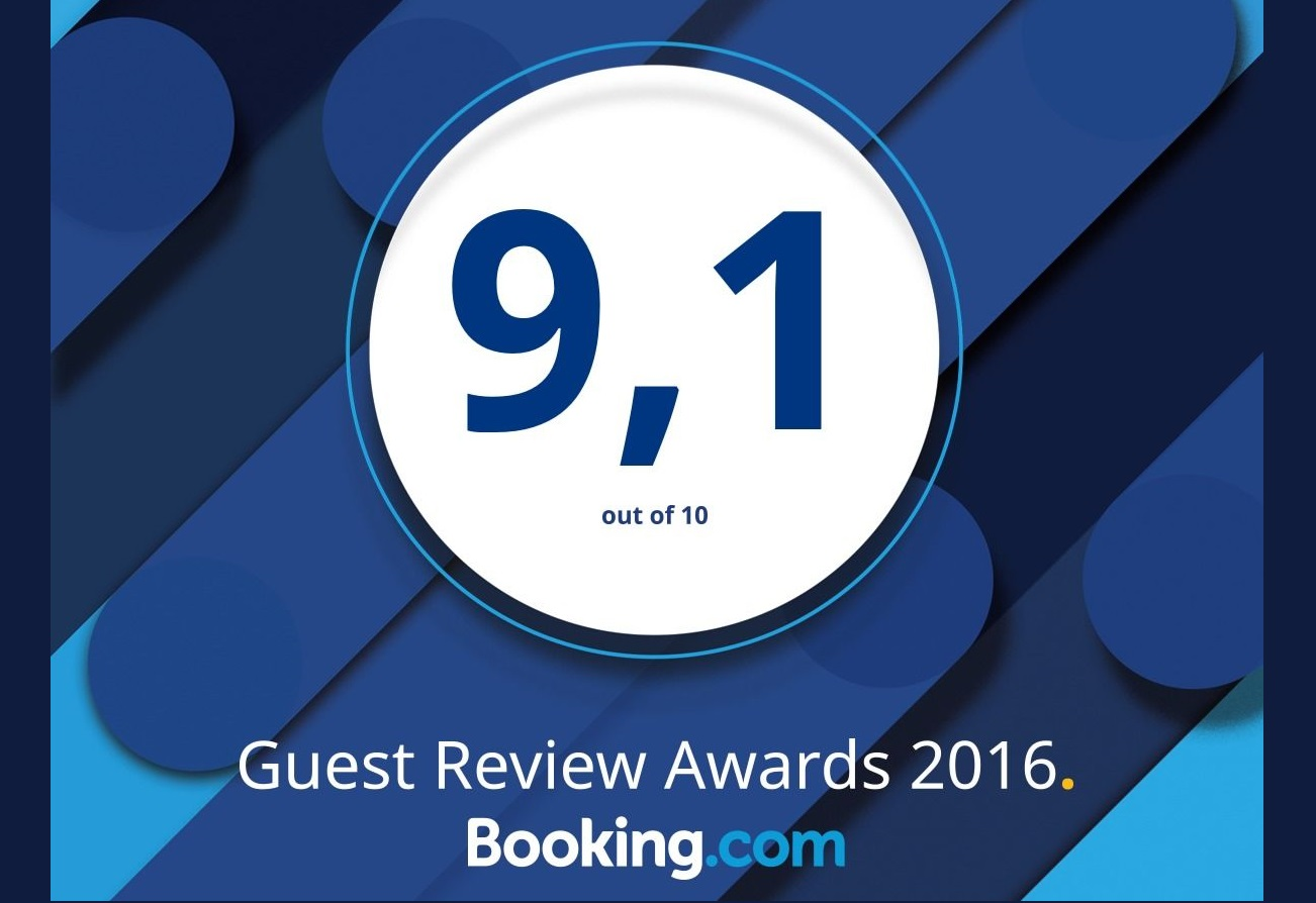 Booking award best hospitality